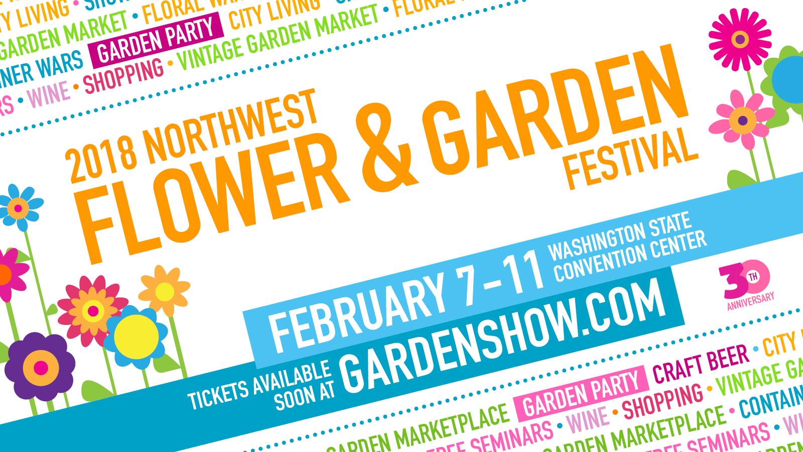 2018 northwest flower & garden show!!! | nature perfect